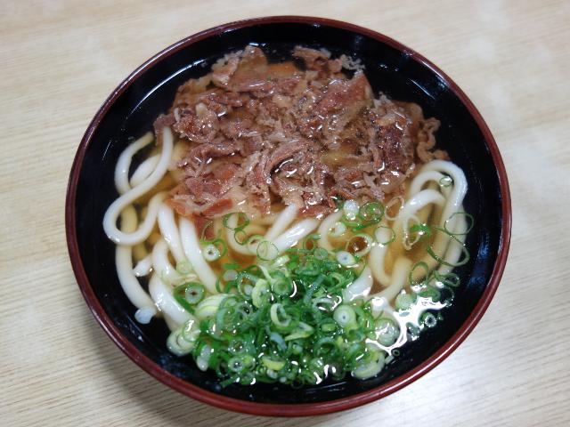 肉うどん530円