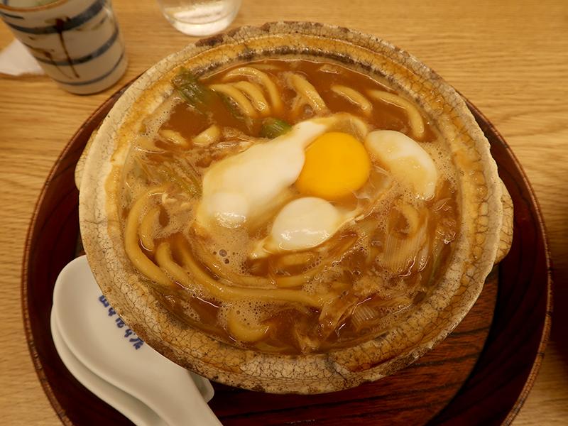 味噌煮込みうどん1120円