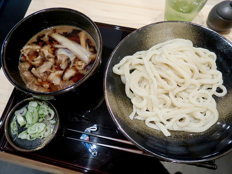 肉なす汁うどん830円