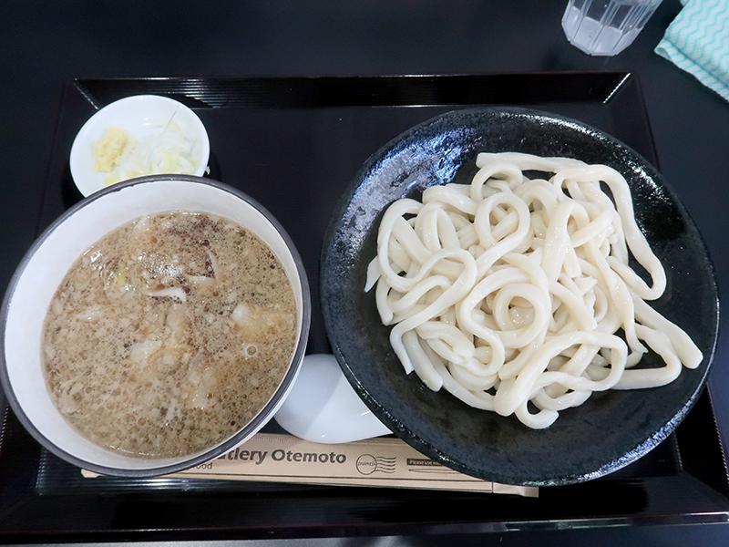 肉汁うどん冷盛750円